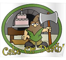 Cake or Death Poster