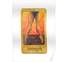 Ballet Tarot Cards: Strength Poster