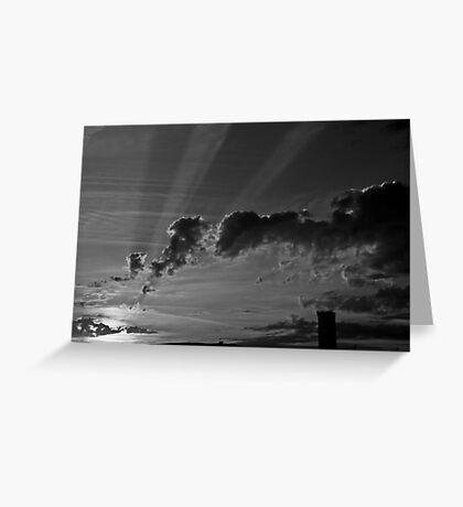 Sunrise over Wazemmes Greeting Card