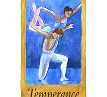 Ballet Tarot Cards: Temperance by Julia Tyler