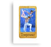 Ballet Tarot Cards: Temperance Canvas Print