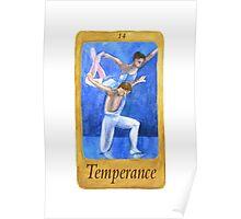 Ballet Tarot Cards: Temperance Poster