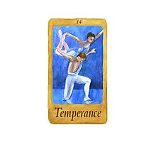 Ballet Tarot Cards: Temperance Photographic Print
