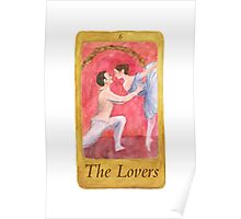 Ballet Tarot Cards: The Lovers Poster