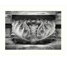 Stone Carving Art Print