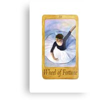 Ballet Tarot Cards: Wheel of Fortune Metal Print