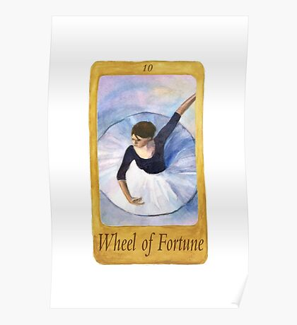 Ballet Tarot Cards: Wheel of Fortune Poster