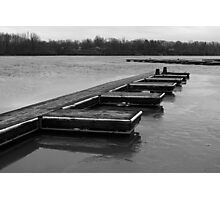 Reservoir Docks Photographic Print