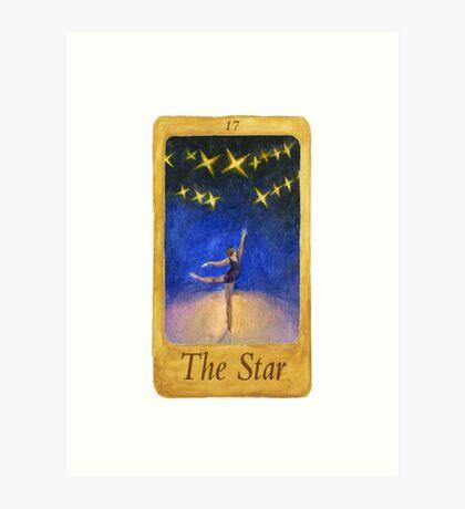 Ballet Tarot Cards: Star Art Print