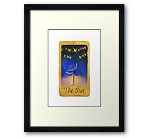 Ballet Tarot Cards: Star Framed Print