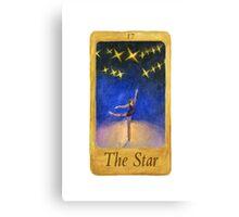 Ballet Tarot Cards: Star Canvas Print