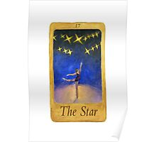 Ballet Tarot Cards: Star Poster