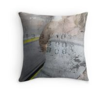 The Next Train Throw Pillow