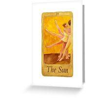 Ballet Tarot Cards: The Devil Greeting Card