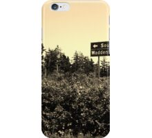 South Head or Waddens Cove? iPhone Case/Skin