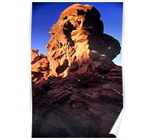 Valley of Fire Monolith 2 Poster