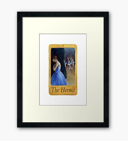 Ballet Tarot Cards: Hermit Framed Print