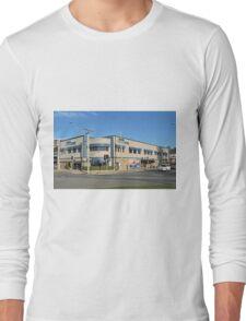 Kirra Beach Hotel, Queensland, Australia Long Sleeve T-Shirt