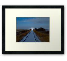 The Guiding Light Framed Print