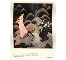 Fairy book Fairy Tales of the Allied Nations - 1917 - Edmund Dulac - 0243 - The Fire Bird Poster