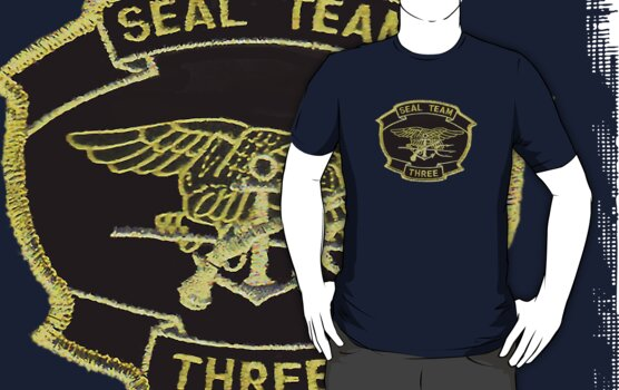 Seal Team Three by Walter Colvin