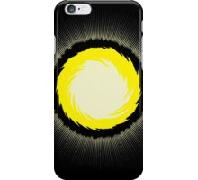 The Power of Chaos - Golden Flash iPhone Case/Skin