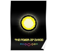 The Power of Chaos - Golden Flash Poster