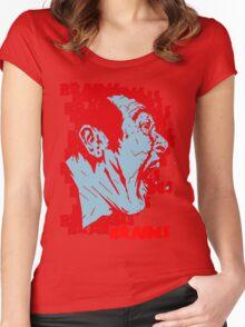 BBRRAAIINNSS!! Women's Fitted Scoop T-Shirt