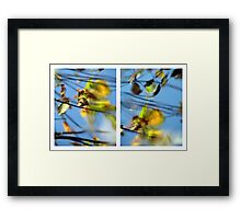 Another Day Goes By - Diptych Framed Print