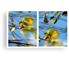 Another Day Goes By - Diptych Canvas Print