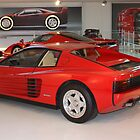 Ferrari Testarossa 1984. Galleria Ferrari, Maranello, Italy by Igor Pozdnyakov