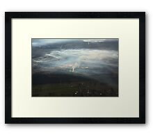 Inversion layer Framed Print