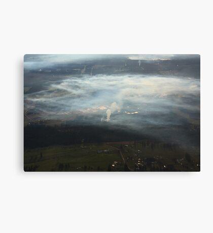 Inversion layer Canvas Print