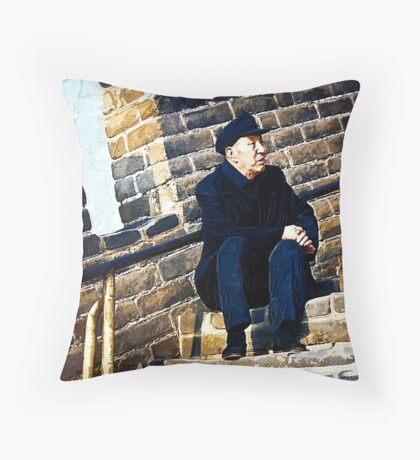 waitin' for my man Throw Pillow