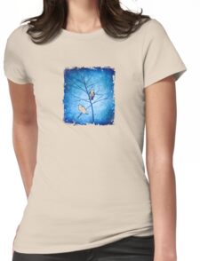 blue dusk Womens Fitted T-Shirt