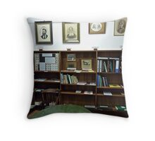 Hope Cottage Museum Reading Room 1 Throw Pillow