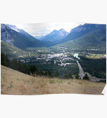 Banff Townsite Poster