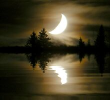 Moon Lake by Barrie Daniels