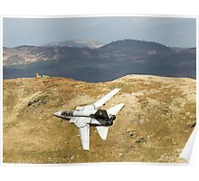 Lowflying Tornado in the Welsh Hills Poster