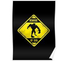Beware of Dog Poster