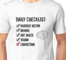 iZombie Checklist Unisex T-Shirt