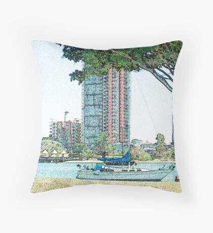 Marina Throw Pillow