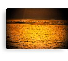 do angels sleep in golden clouds? Canvas Print