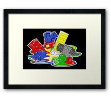 Toy Melt Framed Print