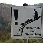 April: Beware falling sheep! Bavaria, Germany by cyclenavigator