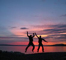 May: Adriatic sunset with Fabien - Kraljevica, Croatia by cyclenavigator