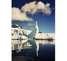 Spire Iceberg Reflection Photographic Print