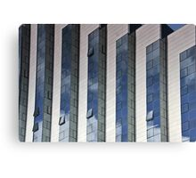 Office and reflections Canvas Print