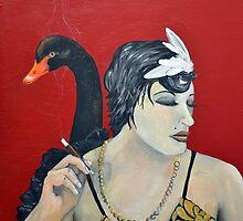 She's an Odd Bird: The Black Swan by Amanda Christine Shelton