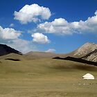 September: In the mountains - Sary Tash, Kyrgyzstan by cyclenavigator